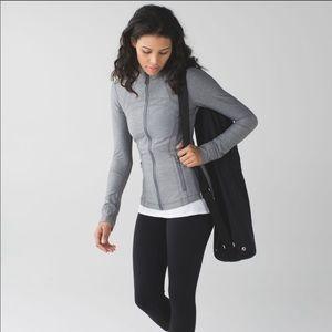 Lululemon gray define jacket size 4